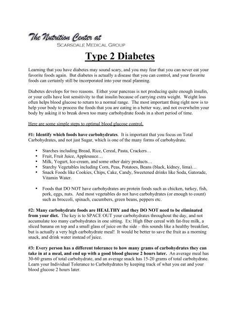 Scarsdale Diätmenü pdf