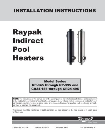 Nirvana pool heaters poolstore - This gas helps keep swimming pools clean ...