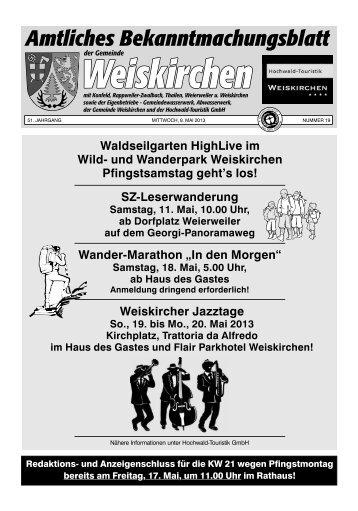 Herr Egon Griem - Weiskirchen