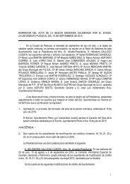 Pleno de 16 de Septiembre de 2010 - Ayuntamiento de Palencia