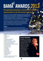 Recognising innovation, success and continuous improvement in ...