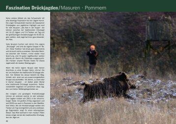 Faszination Drückjagden/Masuren • Pommern - Jagdbüro G. Kahle
