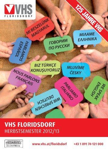 Kursprogramm Herbst 2012
