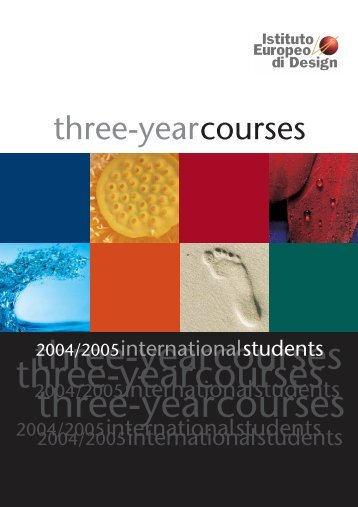 Visual Brochure 2004-05.pdf - IM education