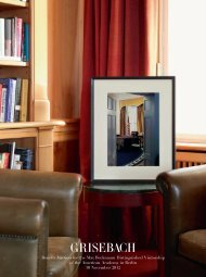 Max Beckmann Distinguished Visitorship - Villa Grisebach