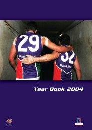FD22a Year Book 2004.indd - Fremantle Football Club