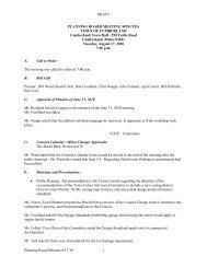 DRAFT Planning Board Minutes 8/17/10 1 PLANNING BOARD ...