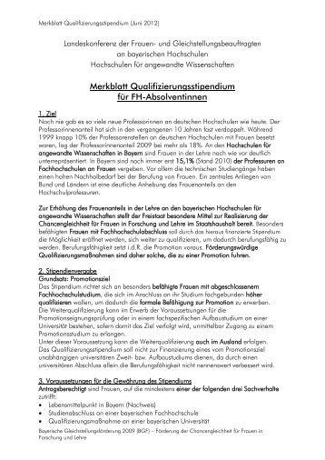 Stipendium Für Frauen 8 free magazines from frauen fh de