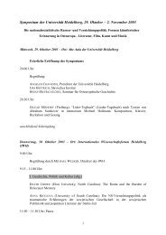 Programm der Veranstaltung - Slavisches Institut
