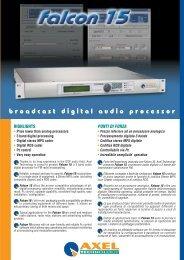broadcast digital audio processor - profiaudio