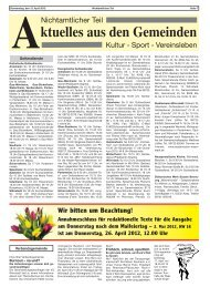 AKTION: Klima- Service- Paket - Verbandsgemeinde Wörrstadt