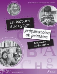 Guide d'accompagnement - Curriculum Services Canada