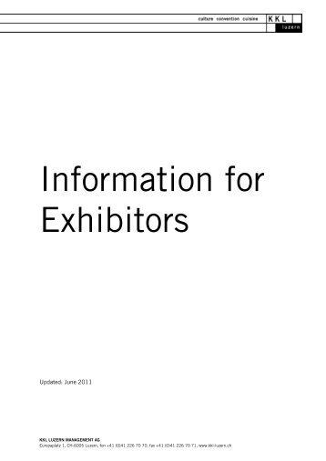 Information for exhibitors - Adventure Travel Trade Association