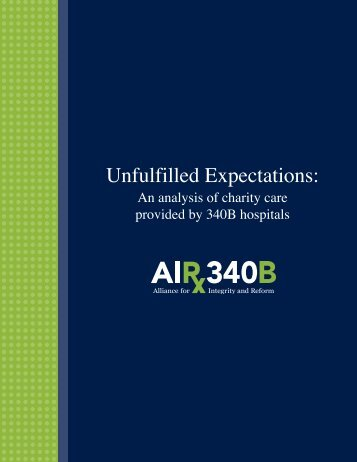 Final AIR 340B Charity Care Paper