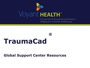 Traumacad touch guide voyant health traumacad global support center resources voyant health publicscrutiny Choice Image