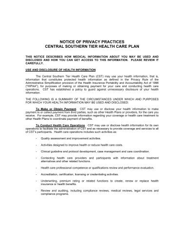 hipaa privacy policy template