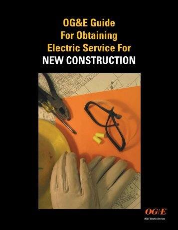 Guide for Obtaining Electric Service for New Construction