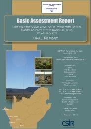 Summary report - CSIR