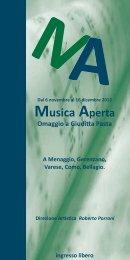 Musica Aperta - Villa Vigoni