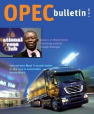 March-April 2006 edition of the OPEC Bulletin