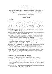 CD-ROM & Books- READINGS - Institute of Development Studies
