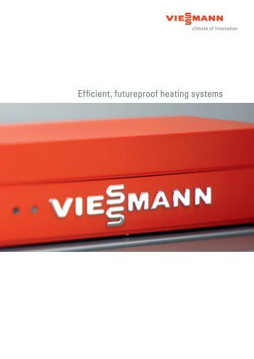 Efficient, futureproof heating systems