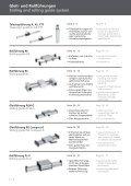 Gleit- und Rollführungen Rolling guide system - Page 2
