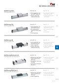 Gleit- und Rollführungen Rolling guide system - Page 3