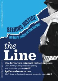 The Line March April 2012 - British Transport Police