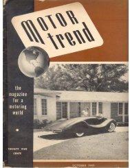 October 1949 Motor Trend Magazine MG TC Road ... - Caroholic.com