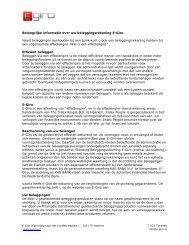 Belangrijke informatie over E-Giro - Index People