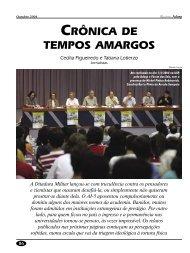 CRÔNICA DE TEMPOS AMARGOS - Adusp