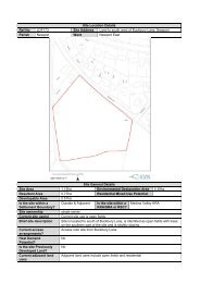 Site Location Details Ref No LDF173 Site Address Land to south ...