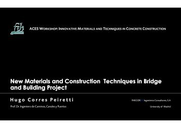 New Materials and Construction Techniques in Bridge and ... - ACES