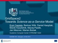 GridSpace2 – Towards Science-as-a-Service Model