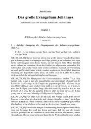 """GEJ - Band 1 - Herzlich willkommen bei """"Die Liebe Gottes"""""""