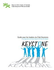 Guide pour les leaders du Club Keystone - The Counselling ...
