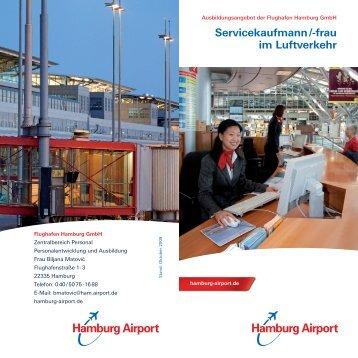 Servicekaufmann /-frau im Luftverkehr