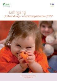 ESP Folder - Österreichische LIGA für Kinder-und Jugendgesundheit