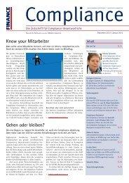 (PDF) | Ausgabe Dezember 2012 - Compliance