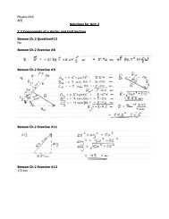 Physics NYA A05 Solutions for Unit 2 2.2 Components of a Vector ...