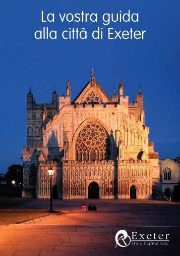 La vostra guida alla città di Exeter - Heart of Devon
