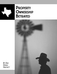 Property Ownership Betrayed—A Case Commentary