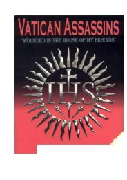 Vatican Assassins by Eric Jon Phelps - Amazing Discoveries
