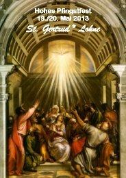 Pfarrnachrichten vom 19. Mai 2013 - Katholische Kirchengemeinde ...