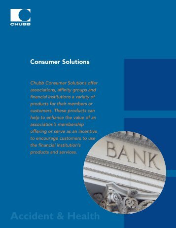 Provided - Chubb Group of Insurance Companies
