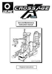 Original Instructions Use and Maintenance instruction manual