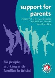 Support for Parents directory.pdf - Henleaze Junior School