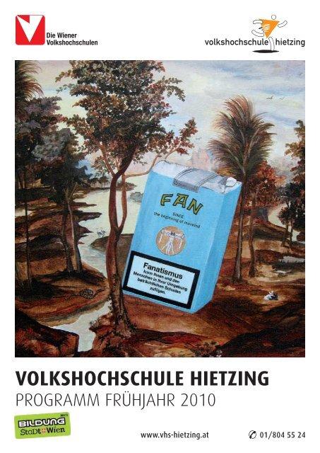 VOLKSHOCHSCHULE HIETZING - Verband Wiener Volksbildung