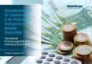 Herausforderungen für Unternehmen in der ... - Roland Berger